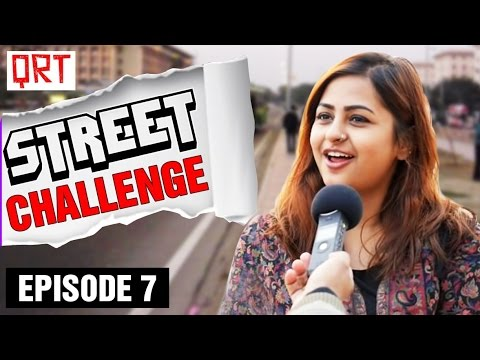 Thumbnail: GIRLS and BOYS these days | Abbreviation Test on Streets | QRT Street Challenge | Episode 7