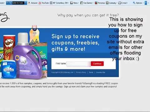 Free Printable Coupons without spam