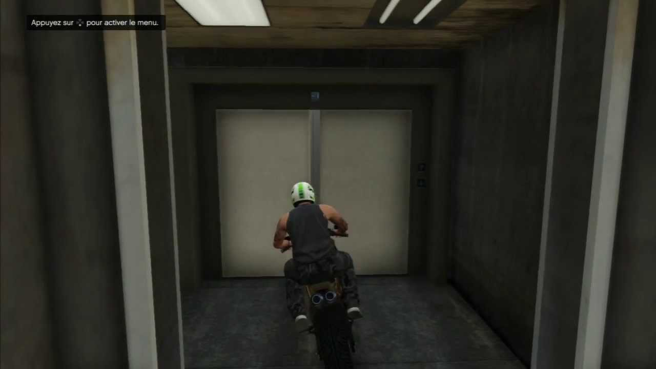 Gta 5 int rieur de l 39 ascenseur fort zancudo youtube for Ascenseur interieur