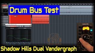 Shadow Hills Dual Vandergraph - Drum Bus | Outboard Gear Demo
