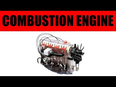 Airfix combustion engine part1