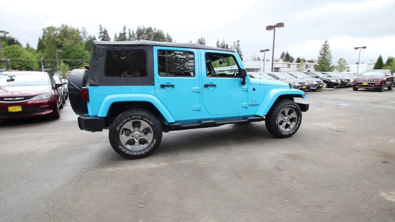 2017 Jeep Wrangler Unlimited Sahara Chief Clearcoat