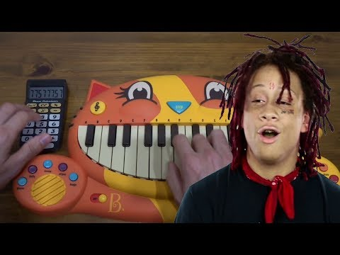 TRIPPIE REDD - Love Scars ON A CAT PIANO AND A DRUM CALCULATOR