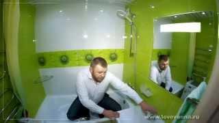 видео Цветовая гамма ванной комнаты