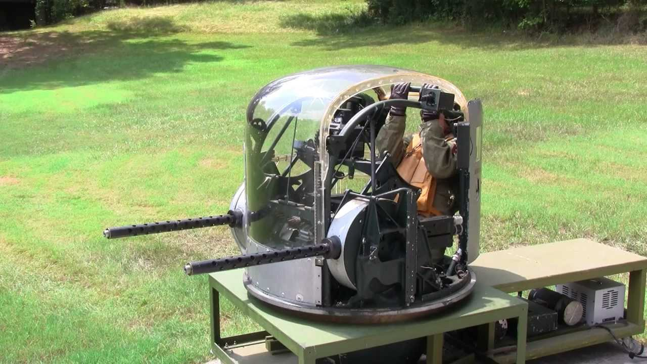 I had a vision in my head about putting a camera on the end of the 50 cal gun facing the ball turret so you  B24 and a great guy  YouTube License