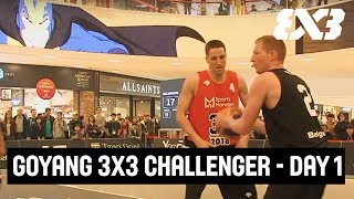 Re-Live - FIBA 3x3 - GoYang 3x3 Challenger 2018 - Day 1