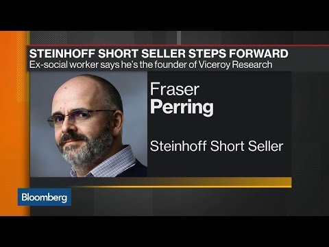 Short Seller Who Flagged Steinhoff Irregularities Steps Forward