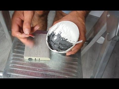 Como hacer masilla de color gris para z calos youtube for Como hacer el color gris para paredes