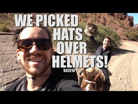 Tupiza, Bolivia | Who wouldn't pick a cowboy hat!! | South America Travel Vlog E19