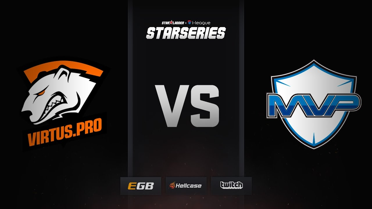 [EN] Virtus.pro vs MVP Project, mirage, SL i-League StarSeries Season 3 Finals