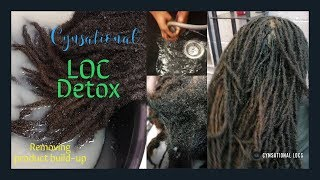 What's in your locs? How to remove product buildup: LOC Detox | CYNSATIONAL LOCS