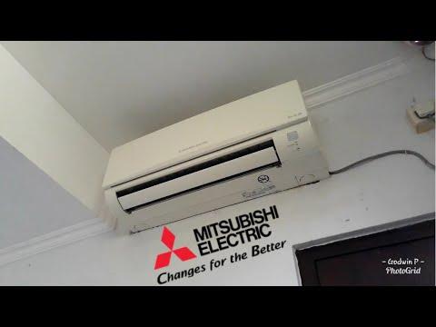 Mitsubishi Mr. Slim mini split air conditioner | Brief Video