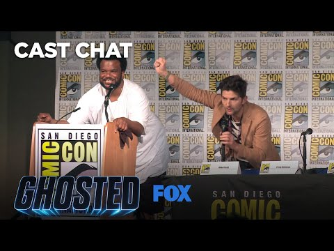 Ghosted Panel At ComicCon 2017  GHOSTED