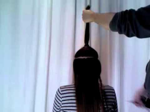 Tecnica para corte de cabello en capas