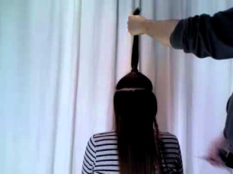 Ver video de corte de pelo desmechado