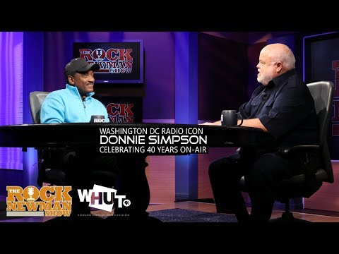 Donnie Simpson on The Rock Newman Show