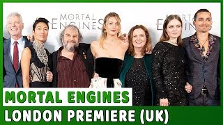 MORTAL ENGINES | UK Premiere