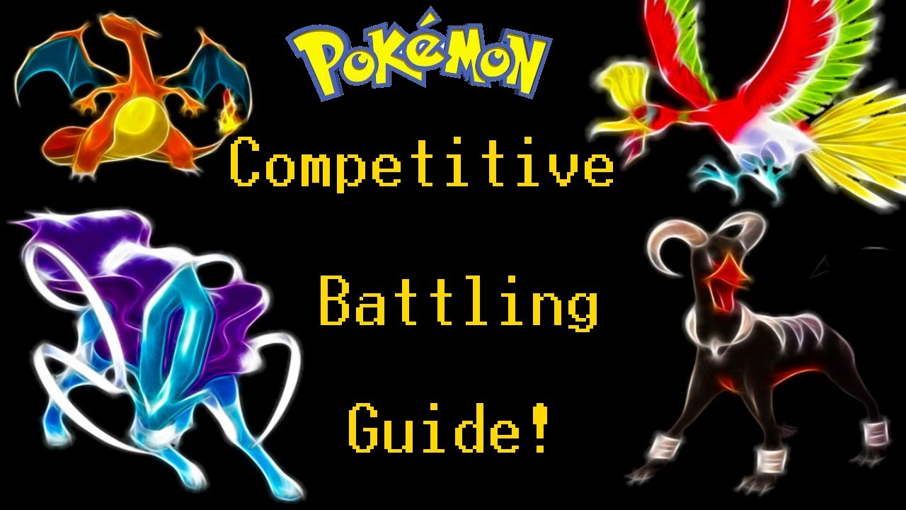 Pokémon sword and shield: a guide to competitive battling.