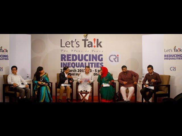 Let's Talk on Reducing Inequalities