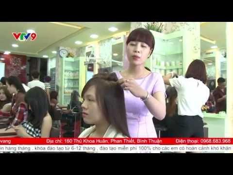 Salon Khánh Model -Cây kéo vàng [ VTV9 -03-09-2015 ]