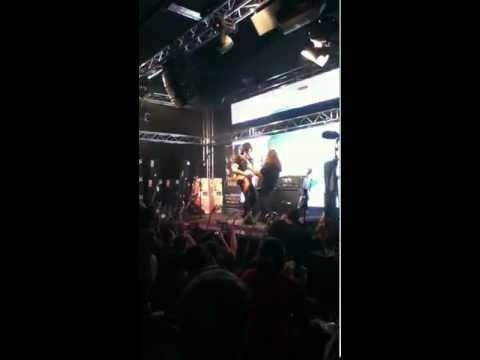 Michael Angelo Batio @ Hermes Music in McAllen, Tx. 02/22/12 Great Show
