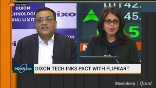 Dixon Technologies Inks Pact With Flipkart