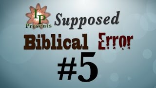 Supposed Bible Error #5 (A Flat Earth?)
