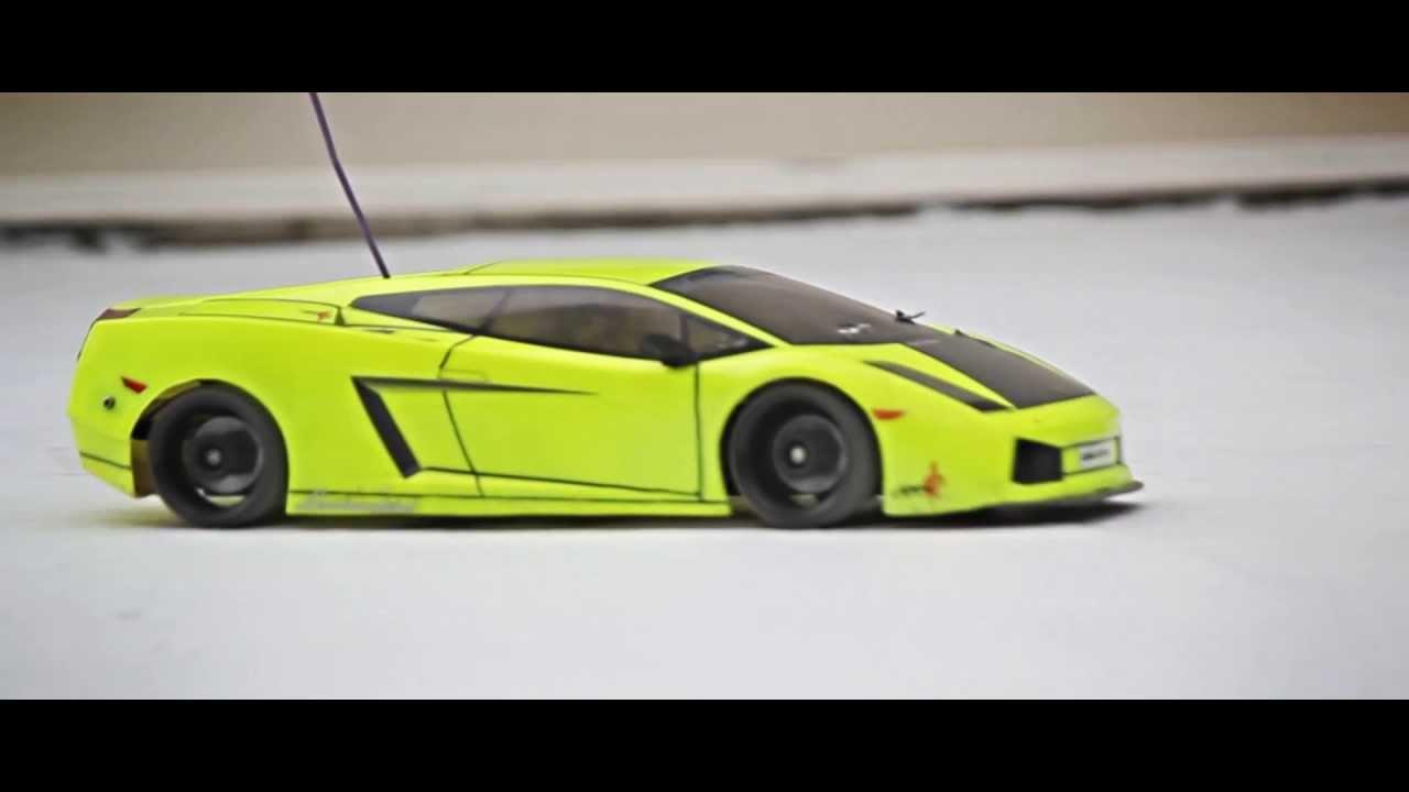 Rc Lamborgini Gallardo Drifting Sold Youtube