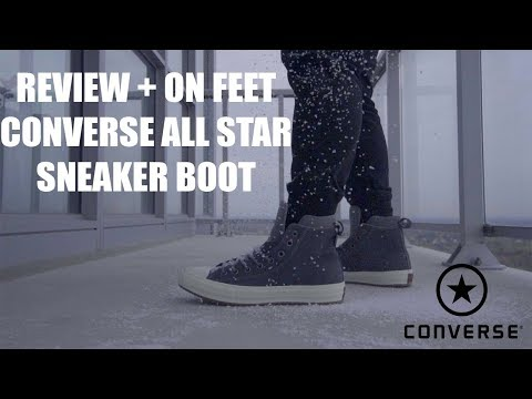 all star snow sneakers