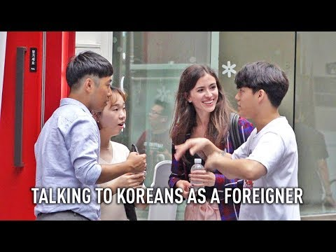 TALKING TO KOREANS IN ENGLISH (ft. JAYKEEOUT)