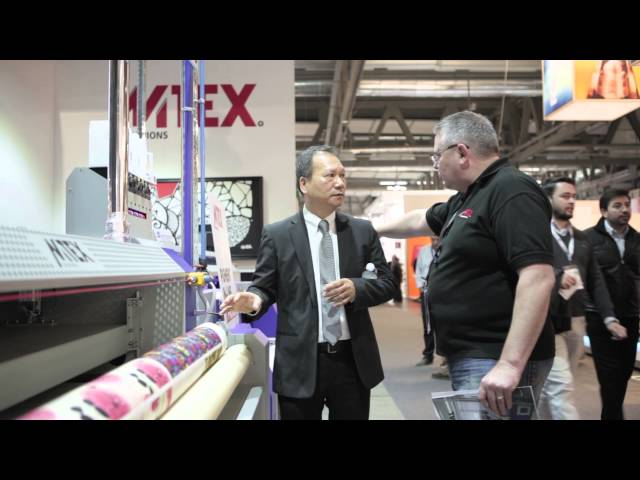 MTEX BLUE + MTEX PAD demo @ ITMA 2015