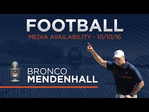 FOOTBALL: Press Conference - 10/10/16