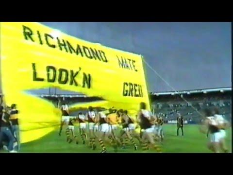 1988 VFL Panasonic Cup Round 1 - Carlton vs Richmond