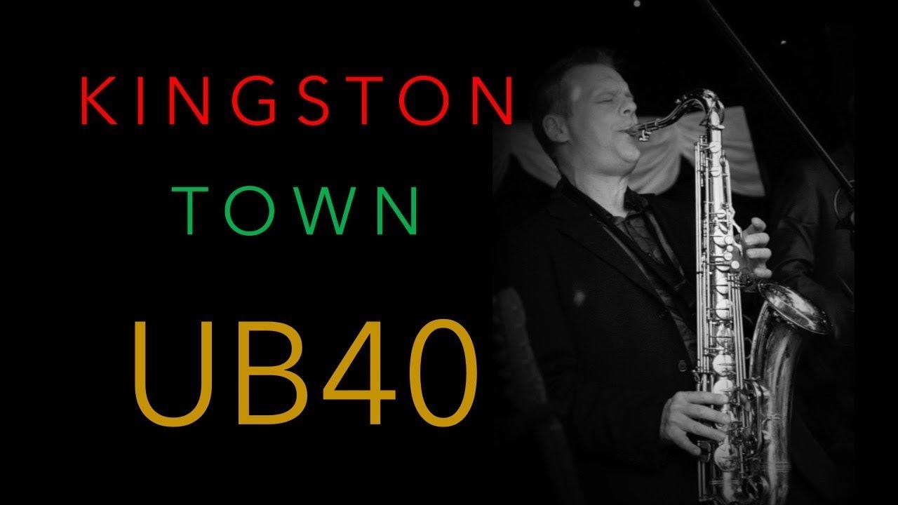 Kingston Town Ub40 Alto Saxophone Cover Youtube