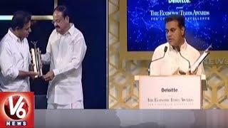 ET Awards 2018: Telangana CM KCR Receives Business Reformer of The Year Award   V6 News