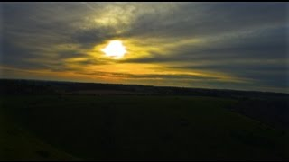 Morning Sunrise in Kent Drone Footage