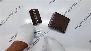 видео Накладной сувальдный замок ЗН4 090.0.0