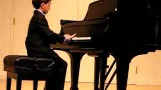Ben Gottesman Piano - Menuet in G Minor (Partial)