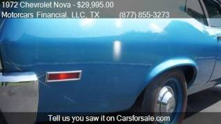 1972 Chevrolet Nova For Sale Coupe for sale in Headquarters