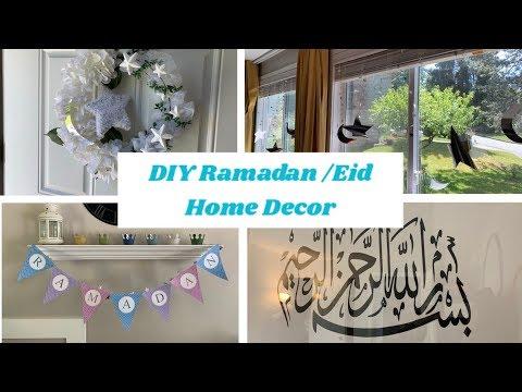 DIY Ramadan and Eid Homedecor |Easy and Simple Ramadan Eid Decor Ideas|DIY Wreath and more
