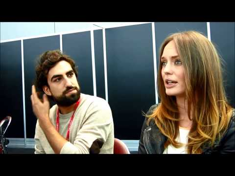 NYCC 2013: Da Vinci's Demons   with Laura Haddock and Gregg Chillin