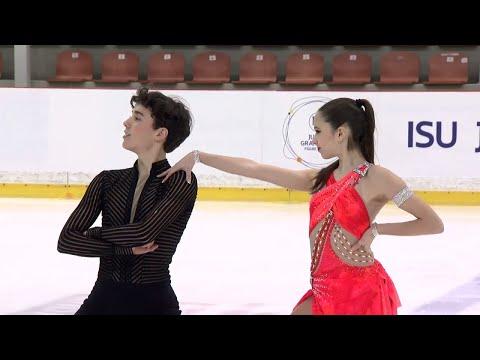 Caroline GREEN  Gordon GREEN USA  Short Dance RIGA 2017