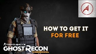 Ghost Recon Wildlands | How To Get The Future Soldier Outfit For Free!