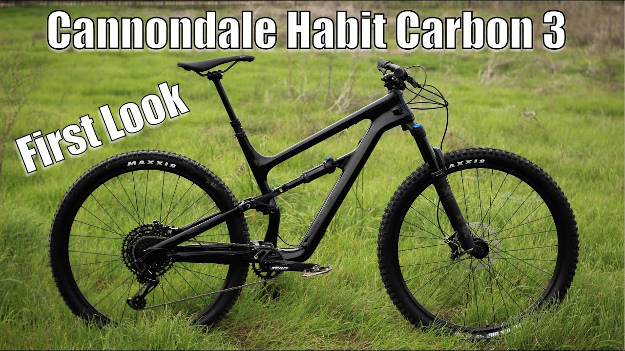 7ae27a70e97 First Look: Cannondale Habit Carbon 3 - YouTube