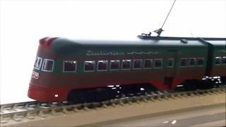 <鉄道模型>シカゴ・ノースショア・アンド・ミルウォーキー鉄道(ノースショアー線)エレクトロライナー  Northshoreline Electroliner