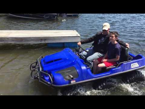 Argo 6x6 amphibious vehicles ATV