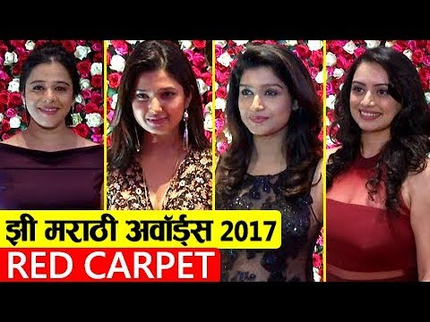 Zee Marathi Awards 2017 Full Show Red Carpet |  Abhijit, Ani