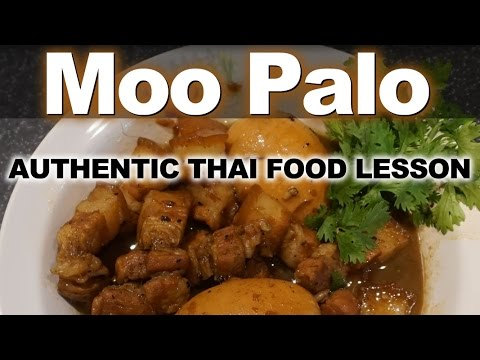 Authentic thai recipe for moo palo how to make thai authentic thai recipe for moo palo how to make thai pork belly and egg stew youtube forumfinder Images