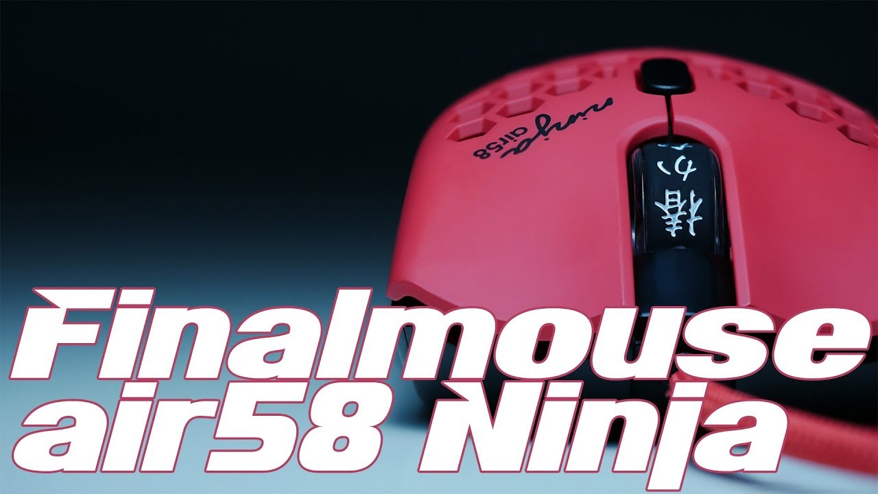 Finalmouse Air58 Ninja Is This Gaming Mouse Worth It Youtube