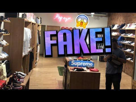 Visiting the FAKE supreme store & fake markets in Jakarta!!!